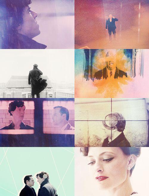Sherlock. #cinematography #colour #montage