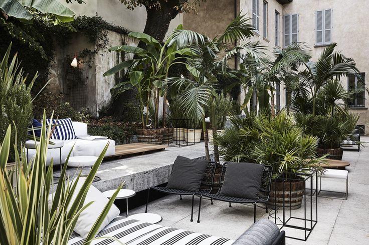 LIVING DIVANI: Elle Decor Grand Hotel outdoor ... - Contemporary ...