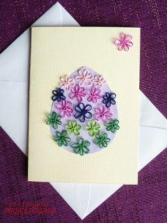 #eastercard #eastercraft #flowers #tatting