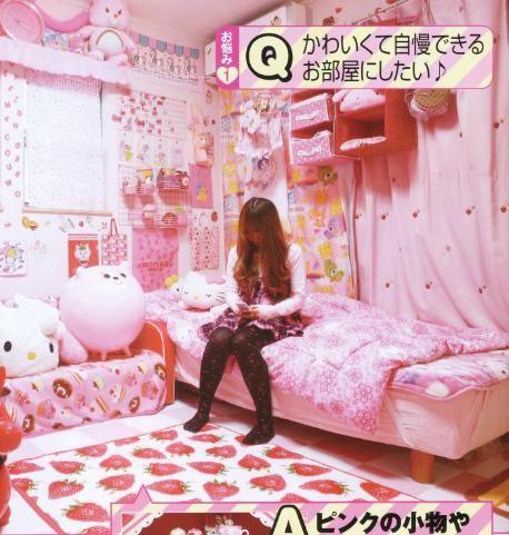 decoraci n estilo kawaii kawaii room and bedrooms