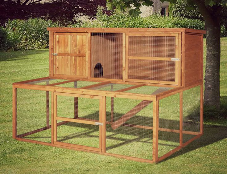25+ Free Rabbit Hutch Plans You Can DIY Within A …