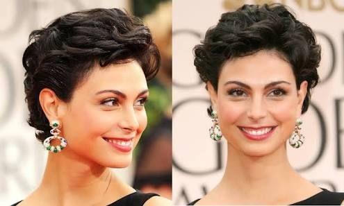 Resultado de imagem para cabelo curto ondulado