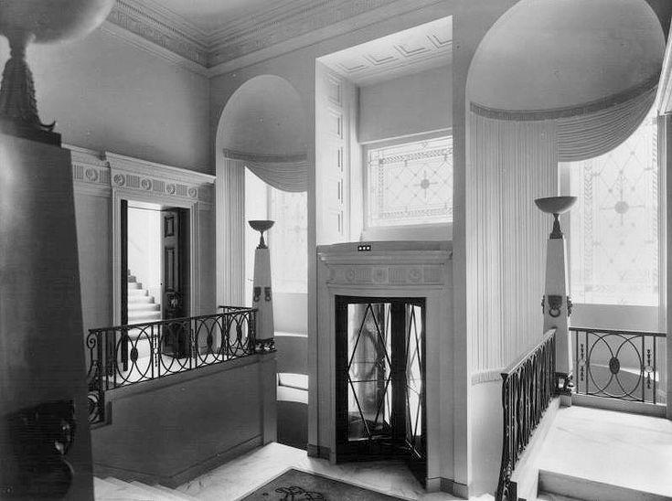 U K Art Deco  Entrance of the Lansdowne Club  a London private club  which1574 best Art Deco images on Pinterest   Art deco art  Art deco  . Art Deco Furniture North London. Home Design Ideas