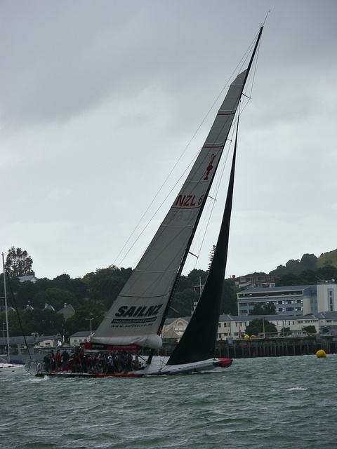 NZ 1 the old America's Cup winning yacht