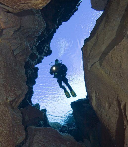 $299 Diving in Silfra at Þingvellir in Iceland    Book at http://bit.ly/Abm2CV