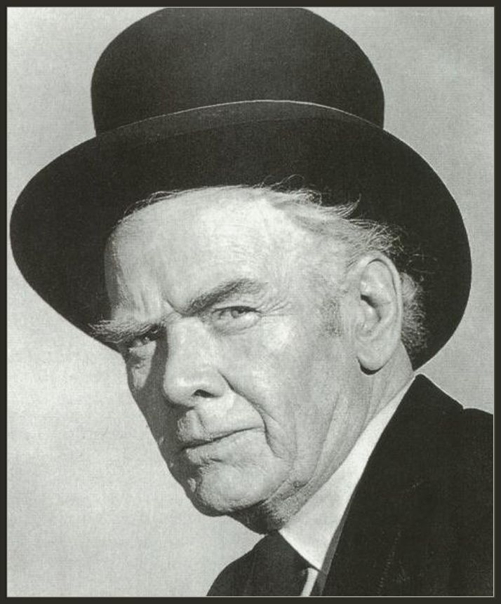 Charles Bickford (1891 – 1967) served as host of the 1950s television series The Man Behind the Badge. In his final years, Bickford played rancher John Grainger, owner of the Shiloh Ranch on NBC's The Virginian western series.