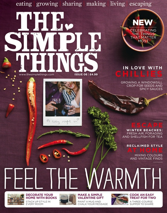 The Simple Things Magazine - Issue 6 available from The Haby Goddess online