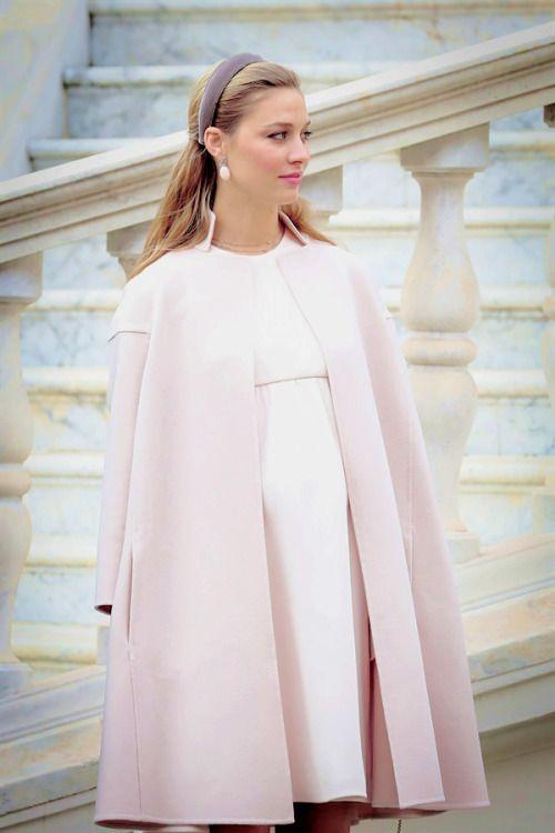 Beatrice Borromeo, pink, pregnant
