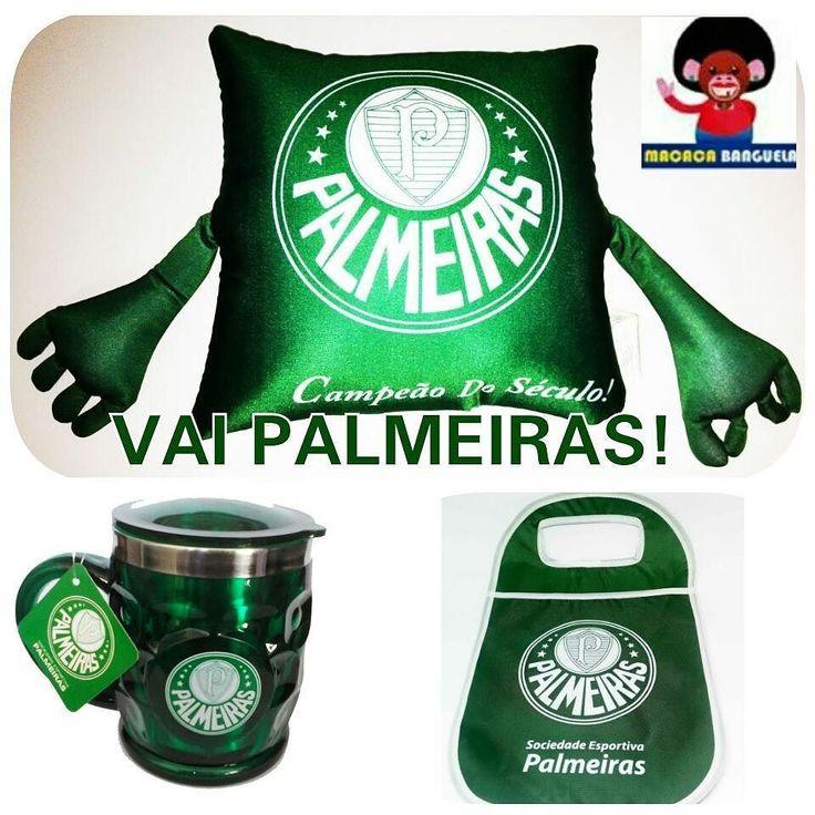 Hoje é dia de torcer pro Verdão na Libertadores #Palmeiras #time #verdão #porco #caneca #almofadas #lixeiras #carro #futebol #arte #homem #palmeirense #mulher #shoponline #macacabanguela #compreseguro