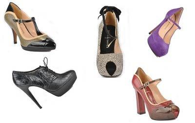 Zapatos de invierno de Rebeca Sanver.