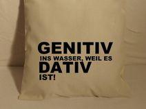 Jutebeutel Funtasche Bag lange Henkel