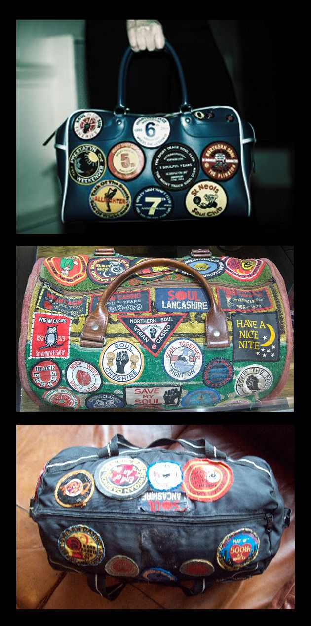 northern soul holdalls from: http://subbaculture.co.uk/tag/northern-soul/page/2/