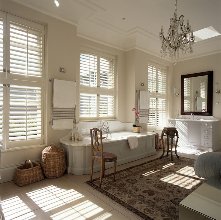 American Windows Bathroom: 40 Best Bathroom Inspiration: Plantation Shutters Images
