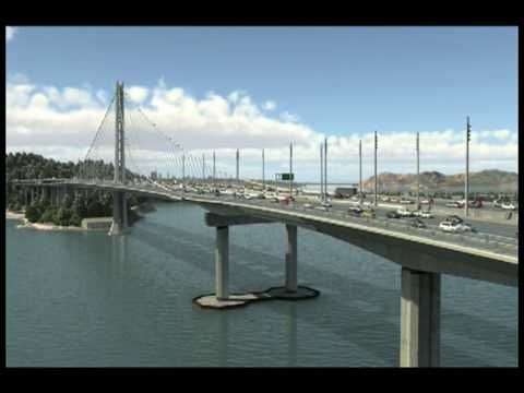 ▶ Bay Bridge in an Earthquake - YouTube