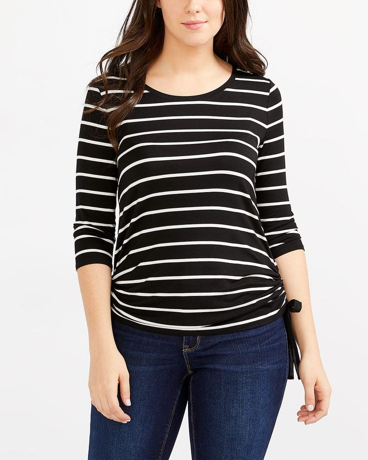 Shop online for Ruched Side Striped Top. Find Tees & Camis, Shop All and more at Reitmans