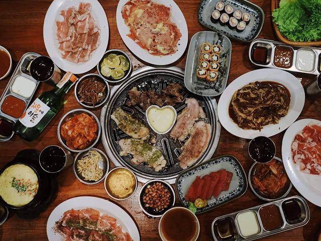 Best Unlimited Korean Bbq In Manila Best Korean Bbq In Manila Affordable Korean Restaurant In Manila Samgyup Korean Bbq Korean Bbq Restaurant Aesthetic Food