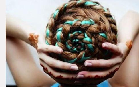 Twenty-five Ribbon Hairstyles