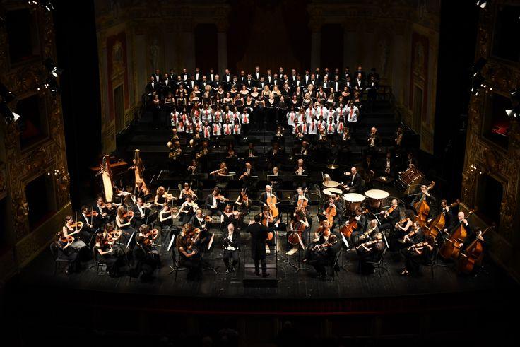 Filarmonica Arturo Toscanini, Coro del Teatro Regio di Parma, Coro di voci Bianche della Corale Giuseppe Verdi, Jader Bignamini - foto Roberto Ricci