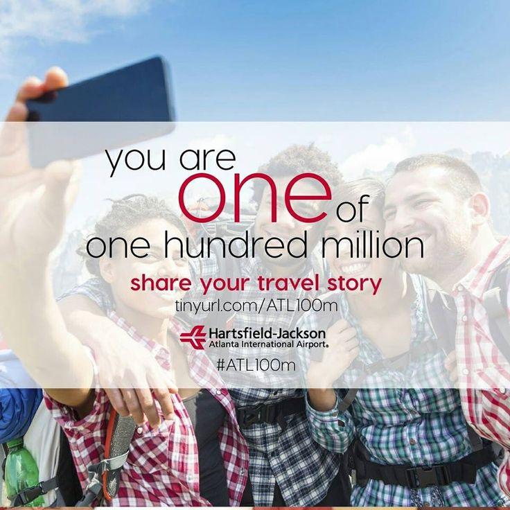 Aeroportul (ATL) Atlanta: 100 de milioane de pasageri #atl100m