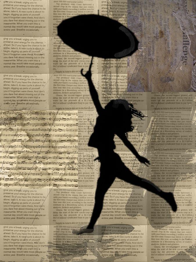 ' Girl with Umbrella ' -   #art  #playful  #girlwithumbrella  #prints  #helloprettysa  #digitaldesign  #homedecor