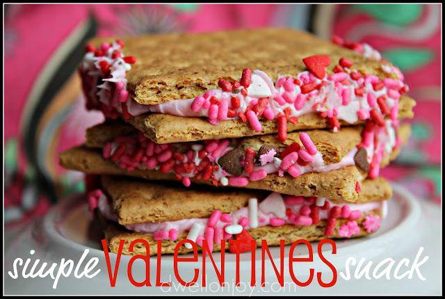simple valentines snack   Dwell on Joy