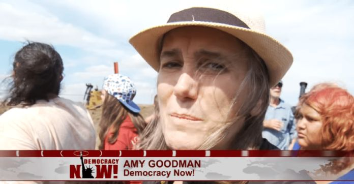North Dakota vs. Amy Goodman: Journalism Is Not a Crime
