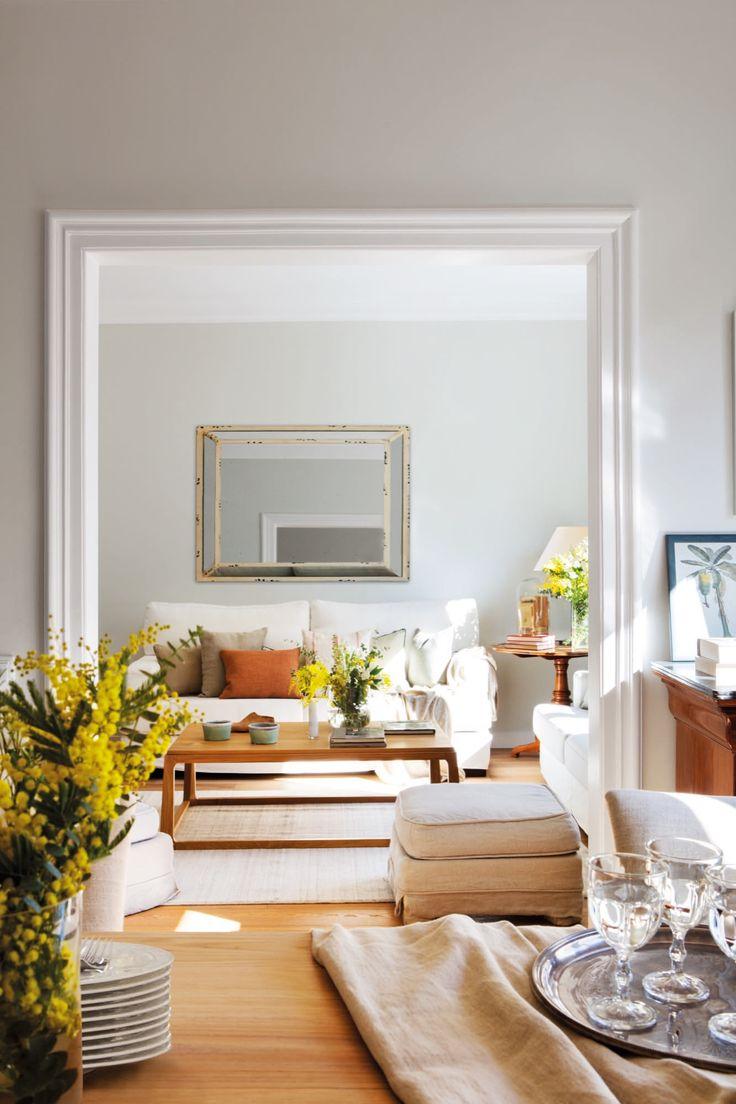 M s de 25 ideas incre bles sobre espejo envejecido en for Salones para pisos