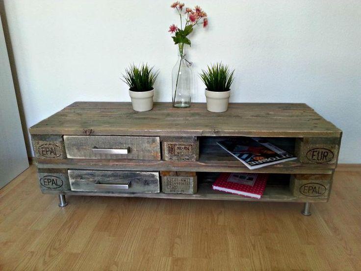 sideboard aus europaletten. Black Bedroom Furniture Sets. Home Design Ideas