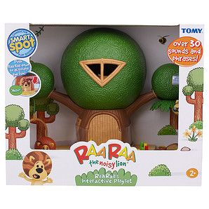 Raa+Raa+The+Noisy+Lion+Raa+Raa's+Interactive+Playset