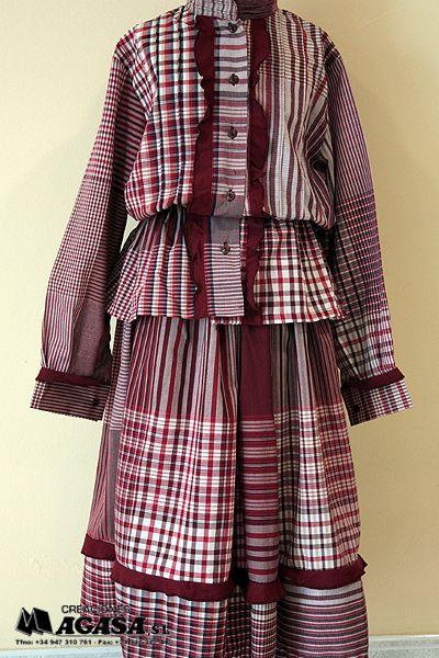 traje tipico aldeana vasca - Buscar con Google