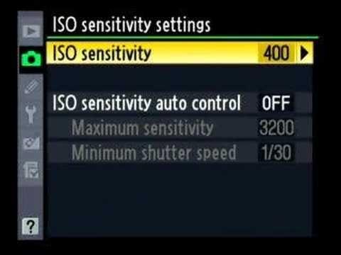 Nikon D300 Advanced menu walk through 1 of 6, tips, tricks
