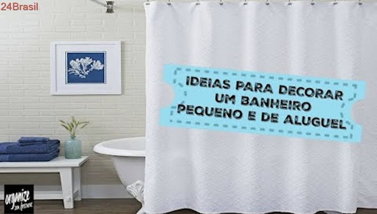 COMO ORGANIZAR E DECORAR UM BANHEIRO PEQUENO OU DE ALUGUEL   Organize sem Frescuras!
