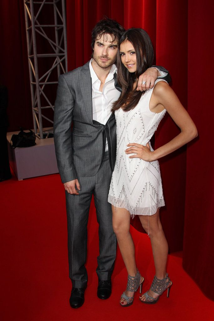 Happy Birthday, Nina Dobrev — See Her 24 Most Sassy and Sexy Shots!: Nina Dobrev and Ian Somerhalder stuck together during the June 2010 Monte Carlo TV Festival opening ceremony.