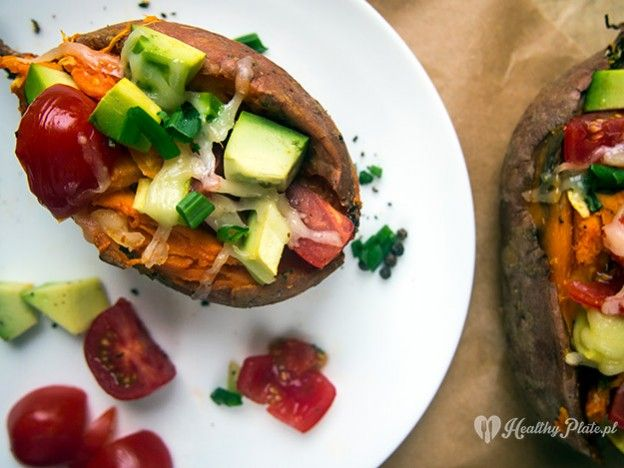 baked sweet potato /batatas asados