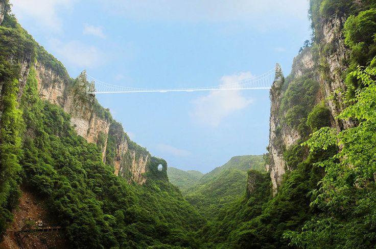 El más difícil todavía - La magia natural de China: enamórate de Tianmén y Zhangjiajie