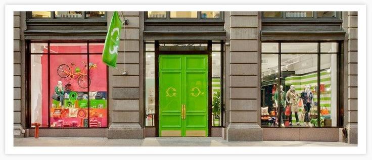 C.Wonder Stores: Green Doors, Favorite Places, Wonder Doors, Wonder Stores, Vibrant Colors, Soho Stores, Gavlak Travel, C Wonder, Bright Colors