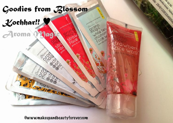 Make up and Beauty Blog | MBF | Beauty Products Reviews | Hair | Skin | Makeup and Beauty Forever: Gift Hamper from Blossom Kochhar - Aroma Magic (Fa...