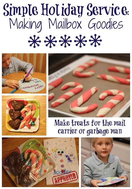 Simple Holiday Service: Mailbox Goodies #actofkindness #holiday #mailbox