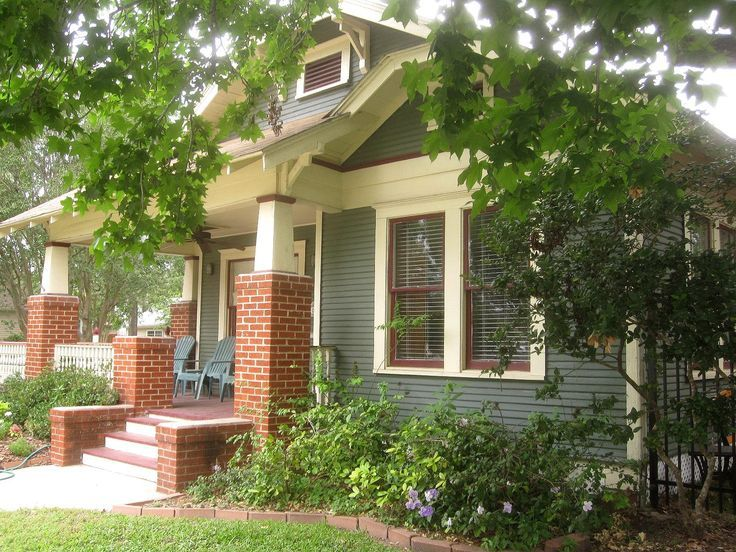 24 best paint colors for bungalow images on pinterest for Craftsman home builders houston