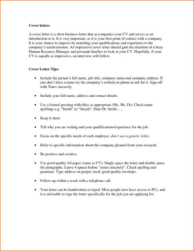 27+ Greeting For Cover Letter Resume Cover Letter Example
