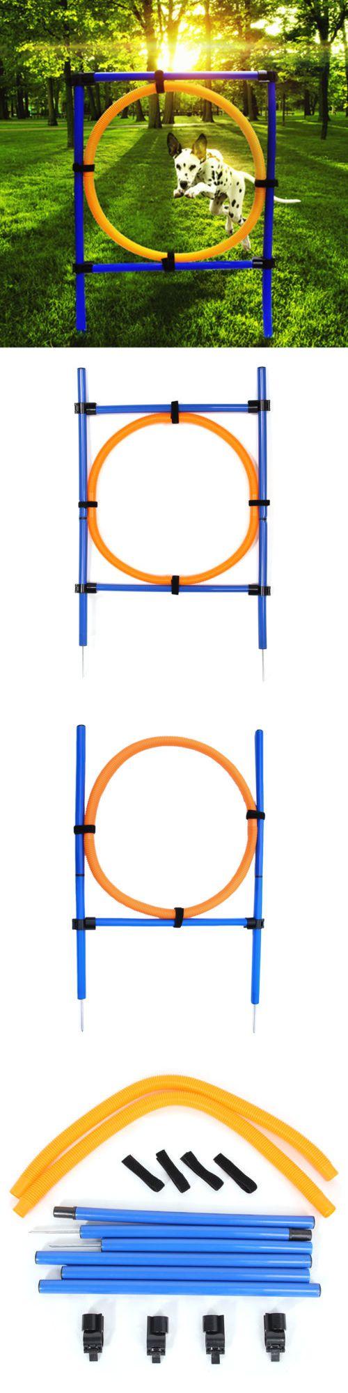 Agility Training 116383: Pet Dog Agility Training,Jump Hoop,Jump Bar,Dog Agility Starter Equipment -> BUY IT NOW ONLY: $38.49 on eBay!