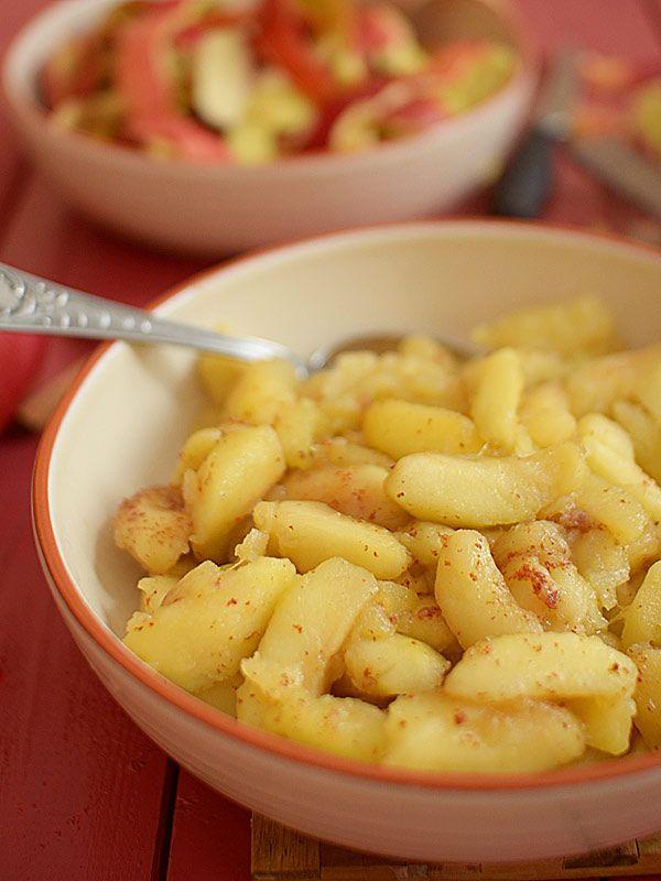 Prażone jabłka - do szarlotki, nadziewania ciast lub naleśników