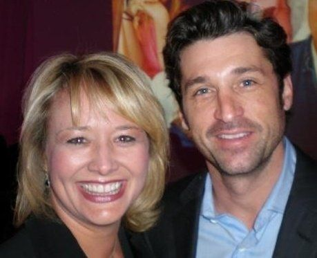 Patrick Dempsey at the People Magazine Heroes Among Us awards ceremony in Los Angeles. I almost fainted...see my upper lip...sweat.