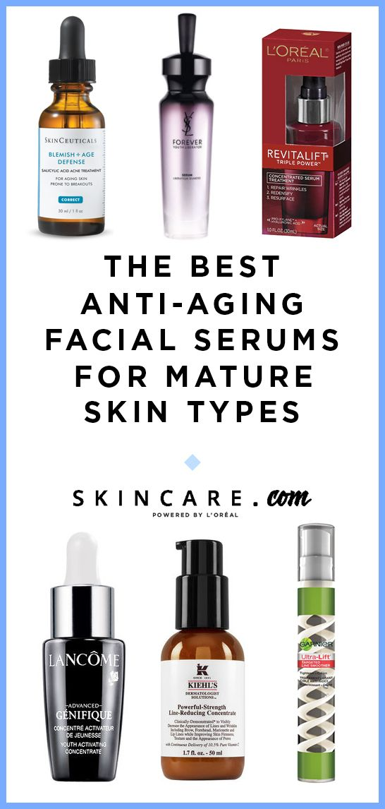 Looking for the best anti-aging facial serums for mature skin types? Look no further than these 6 anti-aging facial serums that can target premature signs of aging such as wrinkles, fine lines, dark spots, and more! Click here to see the best anti-aging facial serums.