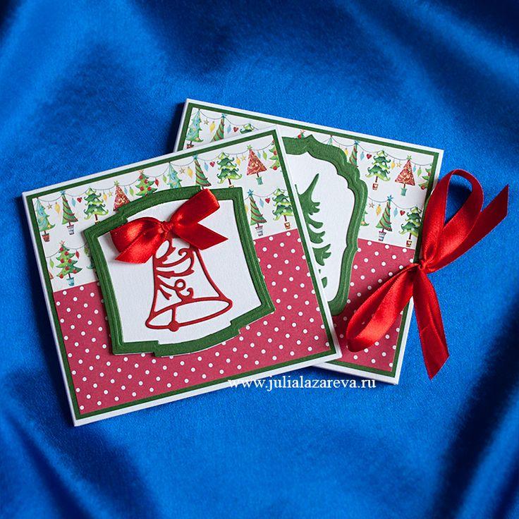 Конверт для диска с фотографиями новогодний  #card #scrapbooking #postcard #scrap