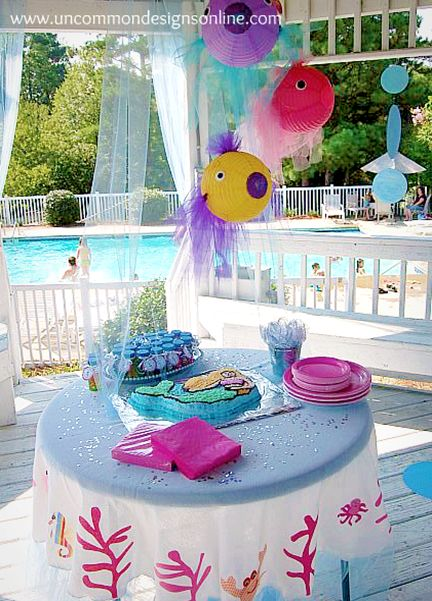 To help you plan a fun undersea adventure for your child's next birthday, we've put together some of the best little mermaid party ideas from around the web  #littlemermaid #mermaid #partyideas #birthday #decorations