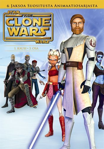 Star Wars: The Clone Wars 1.Kausi,1 del 3 (DVD) 4,95 e