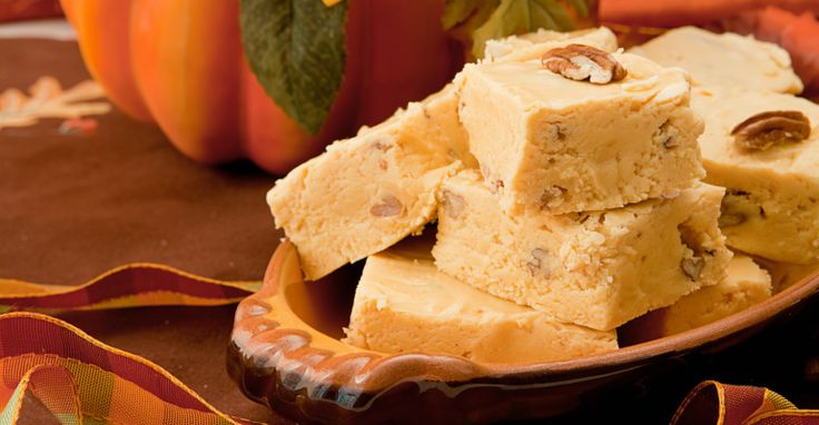 Rich and creamy this pumpkin fudge will take you away to the land of no cares.