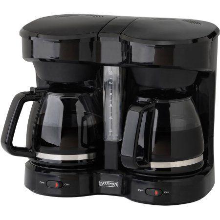Kitchen Selectives Dual Coffee Maker Black