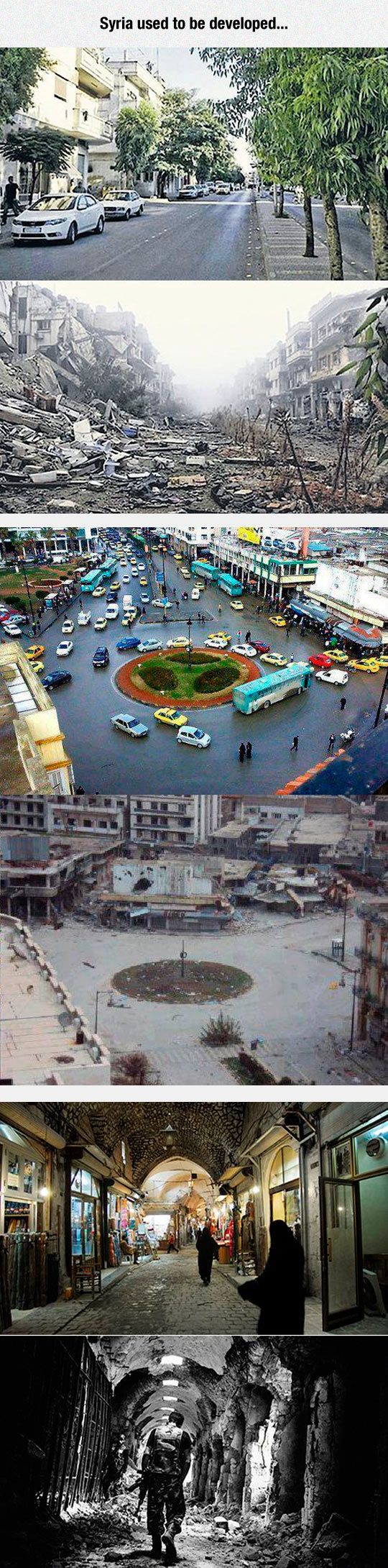 Syria Was A Beautiful Country, and then the people of the 'peaceful religion' took over....
